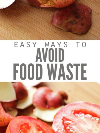 Here are 12 Simple Ways to Avoid Food Waste with ideas for how best to shop, store & preserve food, prepare leftovers, and keep a food wastage journal!