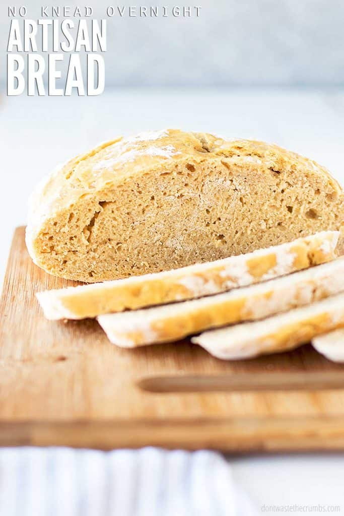This classic artisan no knead bread recipe is super easy to make. Perfect for beginner bakers with minimal work involved, and it tastes great every time!