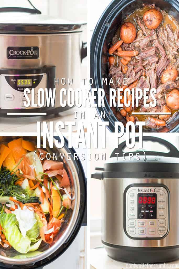 Learn how to slow cook in your Instant Pot